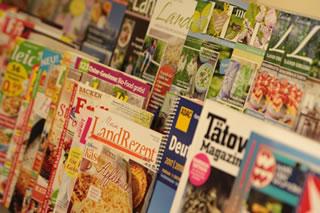 Tankstellenshop Zeitschriften